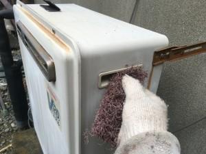 湯沸し器塗装
