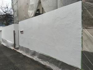 ナノコンポジット塀塗装工事