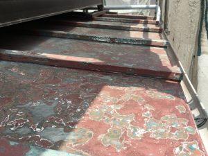 古いトタン屋根の塗り替え1