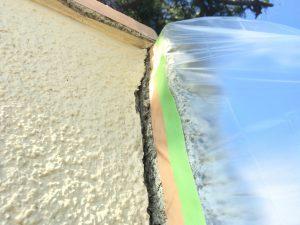 塗装された大谷石2