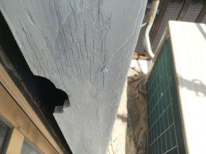 木部の下塗タッチアップ1