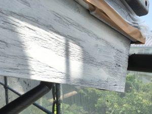 木部下塗破風板