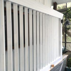 窓格子の塗装2