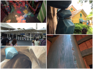 遊園地の塗装とメンテナンス