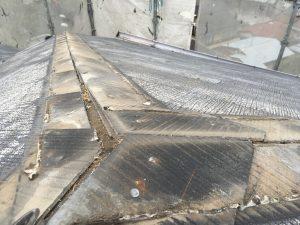 屋根棟を外したコロニアル屋根
