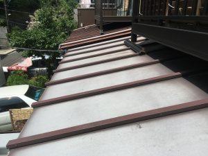 古くガルバリウム屋根10年以上