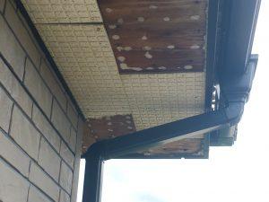 軒天井軒裏の腐食