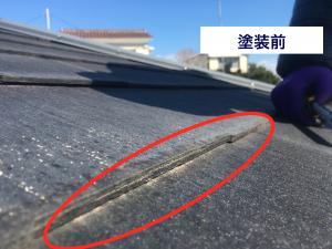 コロニアル屋根剥離パミールニチハ