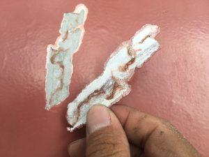 鉄筋の爆裂塗装