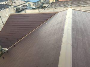 屋根棟山本塗装
