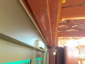 ドア枠鉄塗装