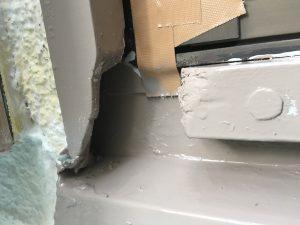 窓枠山本塗装