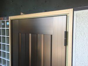 玄関ドア山本塗装