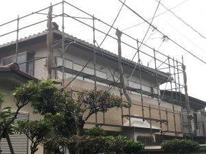 仮設足場横須賀市山本塗装